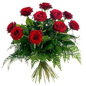 Konya çiçek mağazası , çiçekçi adresleri  10 adet kırmızı gülden buket