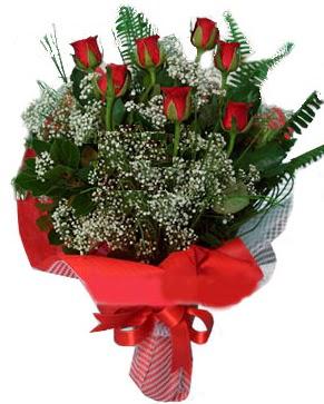 7 kırmızı gül buketi  Konya çiçek siparişi vermek