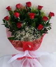 11 adet kırmızı gülden görsel çiçek  Konya güvenli kaliteli hızlı çiçek