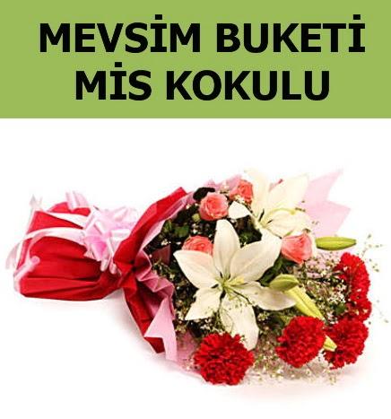 Karışık mevsim buketi mis kokulu bahar  Konya online çiçekçi , çiçek siparişi