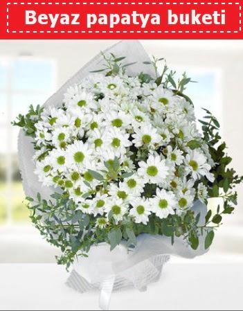 Beyaz Papatya Buketi  Konya çiçek siparişi sitesi