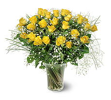 Konya çiçek gönderme sitemiz güvenlidir  15 adet sarigül mika yada cam vazoda