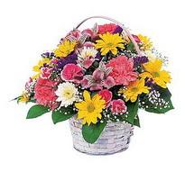 Konya yurtiçi ve yurtdışı çiçek siparişi  mevsim çiçekleri sepeti özel