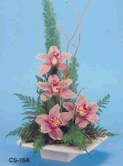 Konya kaliteli taze ve ucuz çiçekler  vazoda 4 adet orkide