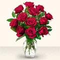 Konya çiçek servisi , çiçekçi adresleri  10 adet gül cam yada mika vazo da