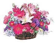 küçük karisik özel sepet   Konya internetten çiçek siparişi