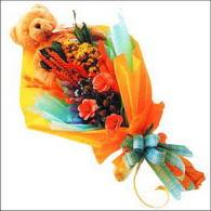 ayicik gül ve kir çiçekleri   Konya İnternetten çiçek siparişi