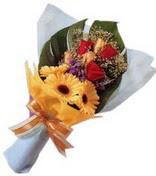 güller ve gerbera çiçekleri   Konya çiçek online çiçek siparişi