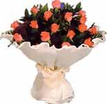 11 adet gonca gül buket   Konya çiçek online çiçek siparişi