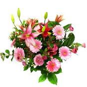 lilyum ve gerbera çiçekleri - çiçek seçimi -  Konya çiçek mağazası , çiçekçi adresleri
