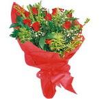 10 adet kirmizi gül buketi  Konya çiçek servisi , çiçekçi adresleri