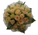 12 adet sari güllerden buket   Konya çiçekçi mağazası