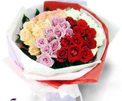 SEVENLERE ÖZEL 51 ADET GÜL  Konya çiçek yolla