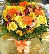 Konya çiçek yolla , çiçek gönder , çiçekçi   karma büyük ve gösterisli mevsim demeti