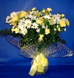 Konya çiçek yolla , çiçek gönder , çiçekçi   sade mevsim demeti buketi sade ve özel