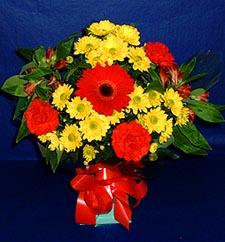 Konya online çiçekçi , çiçek siparişi  sade hos orta boy karisik demet çiçek