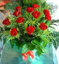12 adet gül buketi  Konya internetten çiçek satışı