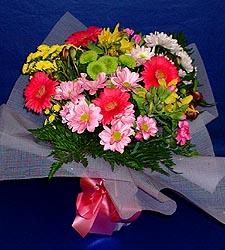 karisik sade mevsim demetligi   Konya çiçek siparişi sitesi