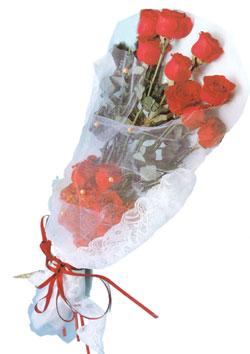 11 adet kirmizi güller buket tanzimi   Konya çiçek gönderme sitemiz güvenlidir