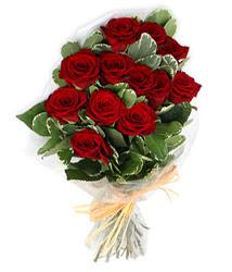 Konya anneler günü çiçek yolla  9 lu kirmizi gül buketi.