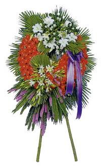 Konya ucuz çiçek gönder  cenaze çelengi