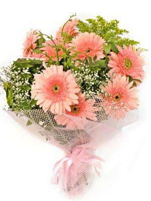 Konya güvenli kaliteli hızlı çiçek  11 adet gerbera çiçegi buketi