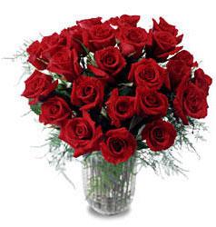 Konya çiçek online çiçek siparişi  11 adet kirmizi gül cam yada mika vazo içerisinde