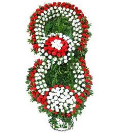 Görsel Cenaze çiçek , cenaze çiçek , çelengi  Konya çiçekçi mağazası