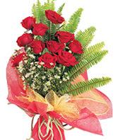 11 adet kaliteli görsel kirmizi gül  Konya güvenli kaliteli hızlı çiçek