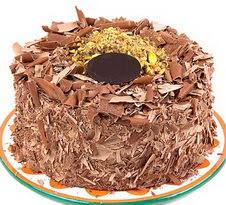 çikolatali 4 ile 6 kisilik yas pasta  Konya çiçek siparişi vermek