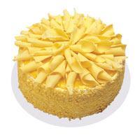 Muzlu pasta 4 ile 6 kisilik yas pasta  Konya kaliteli taze ve ucuz çiçekler