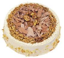 Karamelli 4 ile 6 kisilik yas pasta  Konya çiçek servisi , çiçekçi adresleri