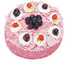 Sahane Tat yas pasta frambogazli yas pasta  Konya çiçek online çiçek siparişi