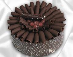 online pasta satisi 4 ile 6 kisilik çikolatali meyvali yaspasta  Konya hediye çiçek yolla