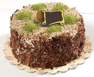 pasta gönderme 4 ile 6 kisilik çikolatali yas pasta  Konya güvenli kaliteli hızlı çiçek