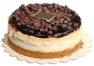pasta yolla 4 ile 6 kisilik çikolatali yas pasta  Konya çiçek , çiçekçi , çiçekçilik