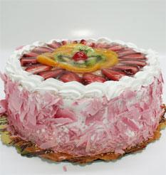 görsel pastacilar 4 ile 6 kisilik yas pasta karisik meyvali  Konya internetten çiçek siparişi