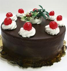 4 ile 6 kisilik yas pasta çikolatali taze pastaci  Konya internetten çiçek satışı