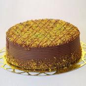 sanatsal pastaci 4 ile 6 kisilik krokan çikolatali yas pasta  Konya ucuz çiçek gönder