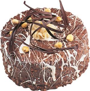 pasta satisi 4 ile 6 kisilik çikolatali yas pasta  Konya hediye sevgilime hediye çiçek
