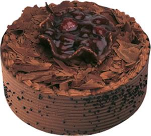 pasta satisi 4 ile 6 kisilik çikolatali yas pasta  Konya yurtiçi ve yurtdışı çiçek siparişi