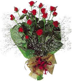 11 adet kirmizi gül buketi özel hediyelik  Konya İnternetten çiçek siparişi