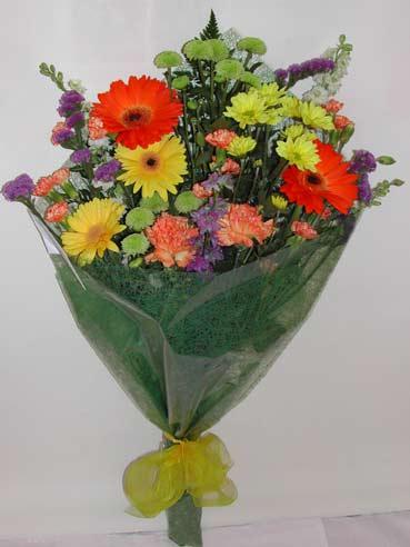 karisik kir çiçek buketi çiçek gönderimi  Konya hediye çiçek yolla