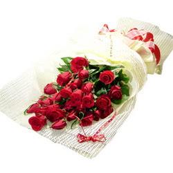 Çiçek gönderme 13 adet kirmizi gül buketi  Konya güvenli kaliteli hızlı çiçek
