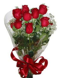 Çiçek sade gül buketi 7 güllü buket  Konya çiçek , çiçekçi , çiçekçilik