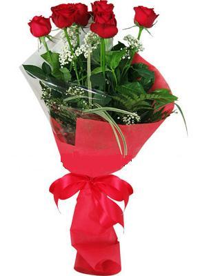 7 adet kirmizi gül buketi  Konya anneler günü çiçek yolla