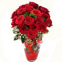 Konya çiçek gönderme sitemiz güvenlidir   9 adet kirmizi gül