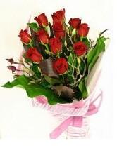 11 adet essiz kalitede kirmizi gül  Konya internetten çiçek satışı