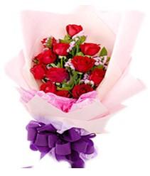 7 gülden kirmizi gül buketi sevenler alsin  Konya çiçek online çiçek siparişi