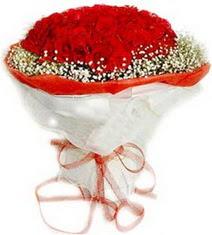 Konya çiçek gönderme  41 adet kirmizi gül buketi